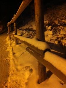Snowy Fenceposts